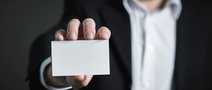 Cartão de visitas para contador